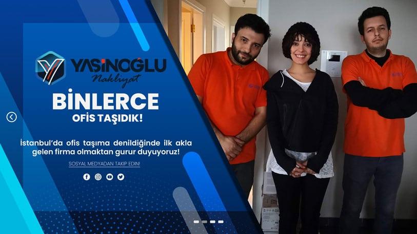 İstanbul ofis taşıma şirketi Yasinoğlu Nakliyat